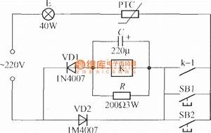 Delay Lamp Circuit Using Relay  7