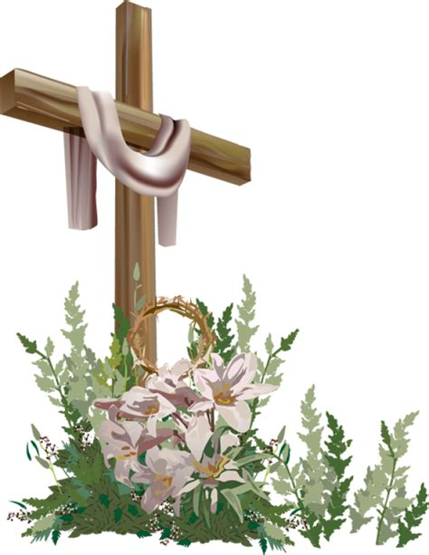 Easter Religious Clip Clipart Church Cross Pencil And In Color