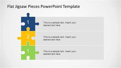 steps vertical diagram  jigsaw pieces slidemodel
