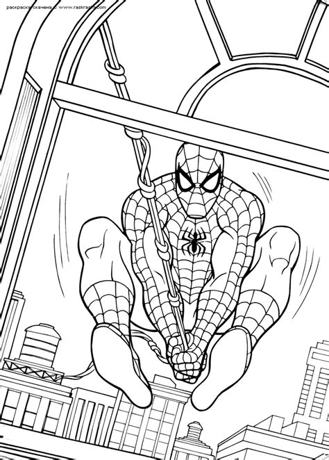 spiderman coloring pages  coloring home
