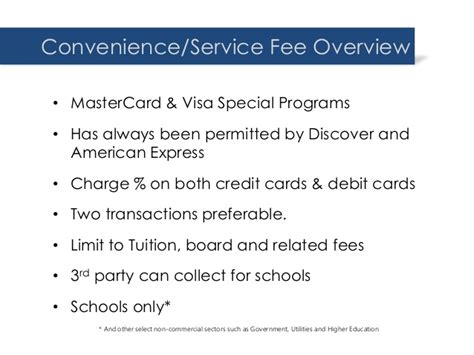 Selecting a credit card that doesn't charge foreign transaction fees is a real benefit for the traveler, but there are so many credit cards without these fees when using a credit card, always pay your bill in the local currency of the country you're in to ensure you get the best currency conversion rate. Accepting Credit Cards for Tuition Without Incurring Fees