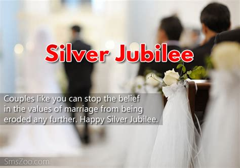silver jubilee wishes silver jubilee sms collection