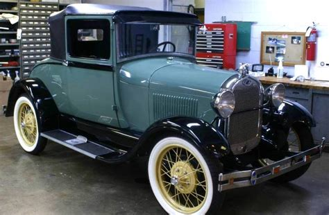 1928 Ford Model A by 1928 Ford Model A Coupe