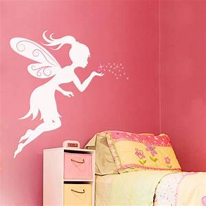 fairy wall decals fairy decal vinyl wall decor wall With fairy wall decals