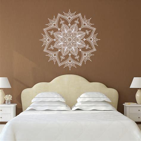 bedroom decor etsy mandala wall decal mandala decal yoga studio decor bohemian 472 | il fullxfull.987501365 ipuk