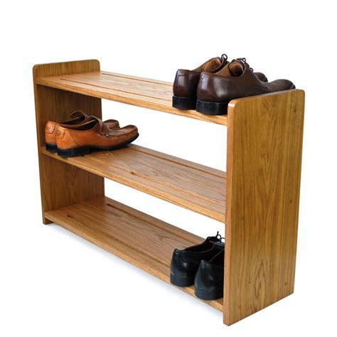 wall mounted surfboard rack oak shoe racks handmade in solid oak various sizes