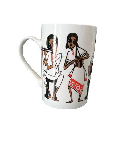 Grown in the gedeo zone of southern ethiopia and enjoy yirgacheffee. Ethiopian Traditional Coffee Mug