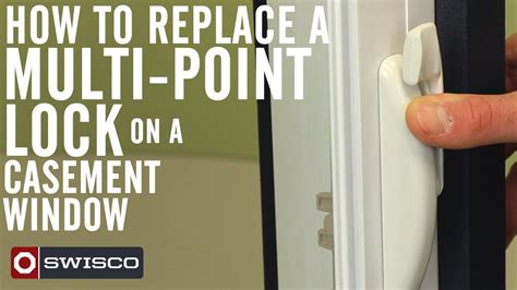 How To Replace A Multipoint Lock On A Casement Window