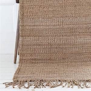 Tapis De Chanvre : tell me more tapis toile de chanvre naturel 80x150cm tell me more petite lily interiors ~ Dode.kayakingforconservation.com Idées de Décoration