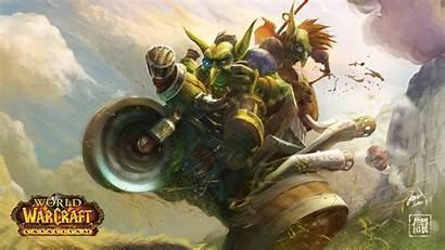 Goblin Wallpapers Warcraft Wow Goblins Cataclysm Fan