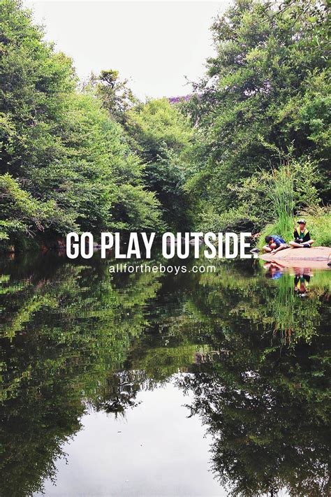 "What Happened To ""go Play Outside""? — All For The Boys"