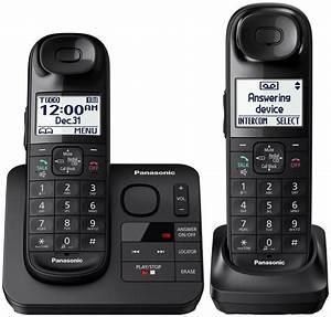 Panasonic Expandable Digital Cordless Phone - KX-TGL432B  Panasonic