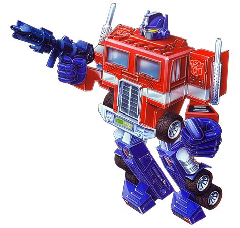 transformer optimus prime the bot the myth the legend g1 optimus prime til all are mine