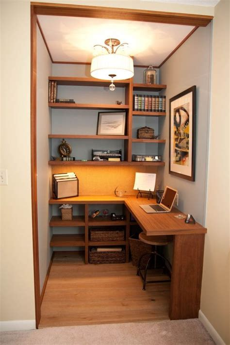 43 Tiny Office Space Ideas to Save Space and Work