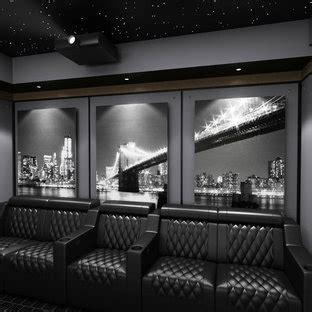 popular modern home theater design ideas