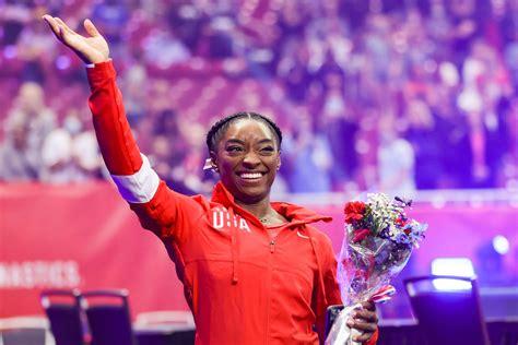 October 13, 2019 simone biles of the u.s. Olympics 2021: How, When To Watch Simone Biles, USA ...