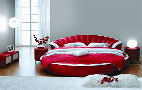 White King Headboard Upholstered by 15 Stylish And Gorgeous Round Bed Designs Bedroomm