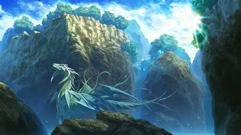 fantasy art dragon mountain wallpapers hd desktop
