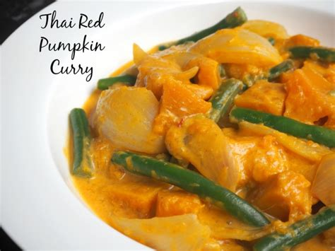Thai Red Pumpkin Curry Recipe by Meatless Monday Thai Red Pumpkin Curry