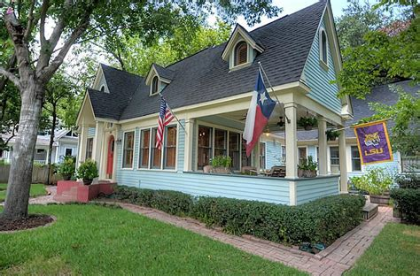 two bedroom cottage updated 1920s historic houston for sale