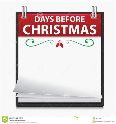 days till christmas template christmas calendar clipart clipart suggest