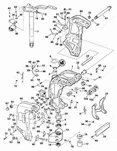 Evinrude 1991 150 - E150tleie  Midsection