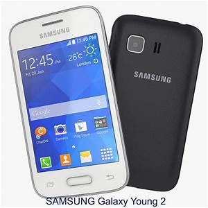 3d Model Samsung Galaxy Young 2
