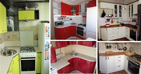 25 Best Small Kitchen Space-saving Solutions Designs Ideas