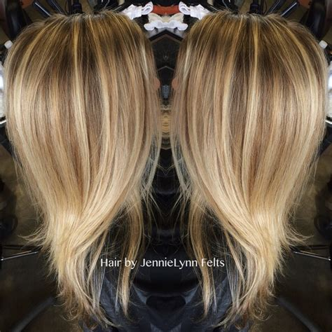 dimensional color dimensional color with a foil highlight summer hair