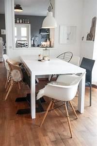 Weisse Esstisch Stühle : stuhlmix wohnzimmer einrichten m bel diy living ~ A.2002-acura-tl-radio.info Haus und Dekorationen