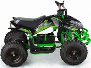Mototec 24v Mini Quad Titan V5 Black  Green
