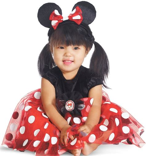 Childs Girls Minnie Mouse Clubhouse Costume Dress Infant