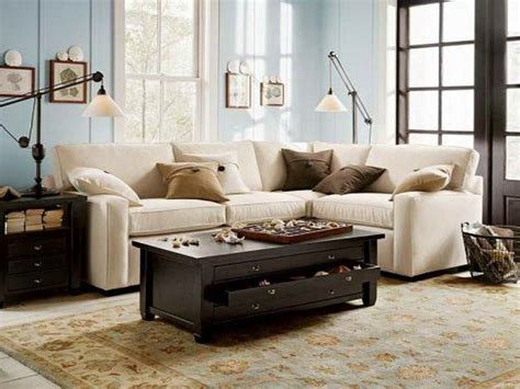 Luxury Pottery Barn Sectional Sofas With