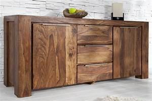 Möbel Aus Tropenholz : sideboard aus sheesham 180cm riess ~ Markanthonyermac.com Haus und Dekorationen