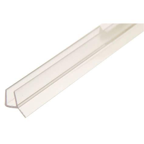 frameless shower door seal showerdoordirect 98 in l frameless shower door seal with
