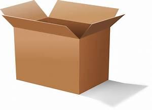 Short Cardboard Carton Clip Art At Clker Com