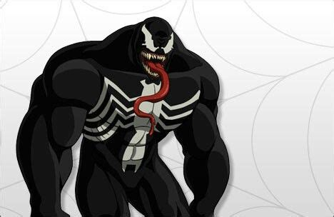 marvel s ultimate spider venom eddie brock spider