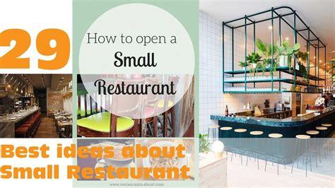 29 Best ideas about Small Restaurant Design