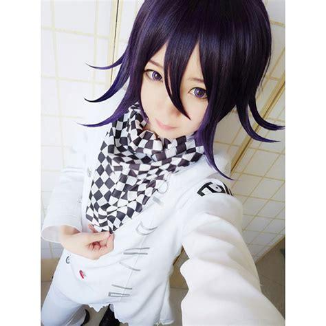 Danganronpa Anime Kokichi New Danganronpa V3 Ouma Kokichi Costume Wig Free
