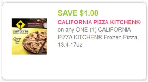 california pizza kitchen coupons new california pizza kitchen for kroger mega