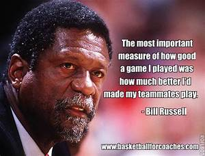 501 Awesome Bas... Bill Russell Basketball Quotes