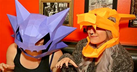 pokemon papercraft masks shut     yen