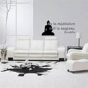 Stickers Salle De Bain Zen : de la m ditation nai t la sagesse dispo sur ~ Dode.kayakingforconservation.com Idées de Décoration