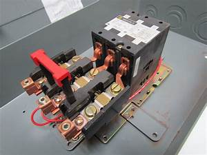 Square D 8911dpsg73v09 Definite Purpose Magnetic Motor