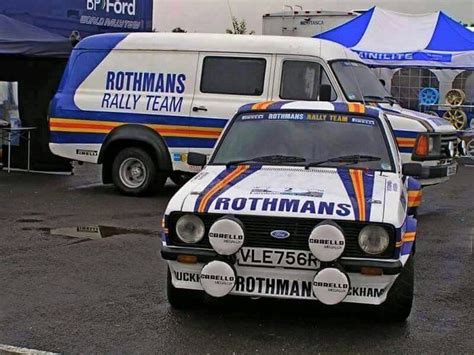 Team Ford by Rothmans Mk2 Service Barge Rally Teams Ford
