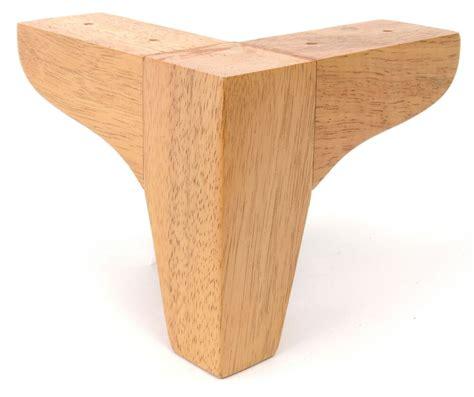 Upholstery Legs leg 5 quot tapered corner sofa legs set of 4 ebay