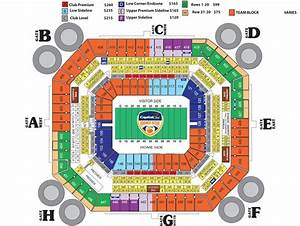 Outback Bowl Stadium Seating Chart Reference Guide To Gator Football Tv College Sports