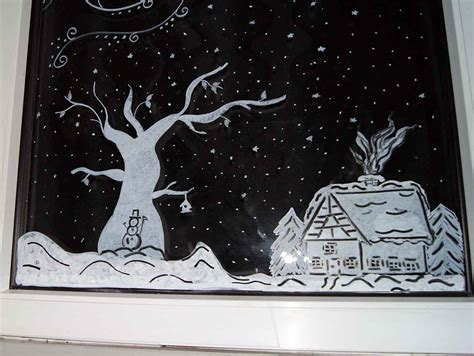 Fensterdeko Weihnachten Kreide by Apfelkiste Netfensterbilder Mit Kreidestifte Weihnachten