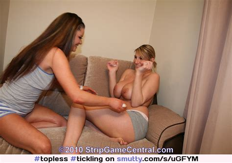 Sarah And Demi Playing Strip Tickle I Think Demi Is