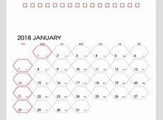 座檯月曆下載月曆下載檯曆下載年曆下載2018年座檯月曆Desk calendar